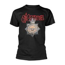 T-Shirt Unisex Tg. L. Saxon: Strong Arm Of The Law
