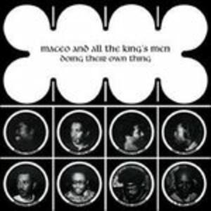 Doing their own Thing - Vinile LP di Maceo and All the King's Men