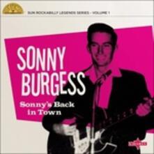 Sonny's Back in - Vinile 10'' di Sonny Burgess