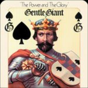 Power and the Glory - Vinile LP di Gentle Giant