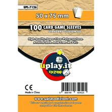 UPlay.it: 100 Bustine Custom SG (50 x 75 mm)