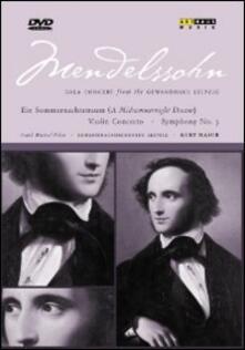 Felix Mendelssohn. Gala Concert from the Gewandhaus Leipzig - DVD