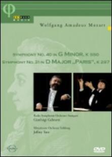Wolfgang Amadeus Mozart. Symphony No. 40 In G Minor KV 550 - Symphony No. 31 In (DVD) - DVD di Wolfgang Amadeus Mozart,Gianluigi Gelmetti