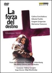 Verdi Giuseppe. La Forza del Destino di Elijah Moshinsky - DVD