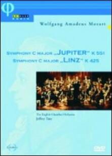 """Wolfgang Amadeus Mozart. Sinfonia n.41 K 551 \Jupiter\""""- n.36 K 42"""" (DVD) - DVD di Wolfgang Amadeus Mozart,English Chamber Orchestra,Jeffrey Tate"""