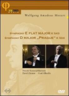 """Wolfgang Amadeus Mozart. Sinfonia K 504 \Praga\"""" - Sinfonia K 543"""" (DVD) - DVD di Wolfgang Amadeus Mozart,David Zinman,Gerd Albrecht"""