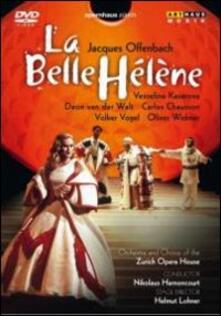 Jacques Offenbach. La belle Hélène (DVD) - DVD di Jacques Offenbach,Vesselina Kasarova,Deon Van der Walt,Nikolaus Harnoncourt