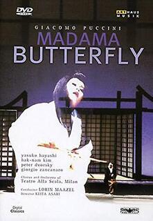 Giacomo Puccini. Madama Butterfly (DVD) - DVD di Giacomo Puccini,Yasuko Hayashi