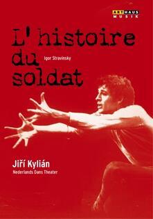 Igor Stravinsky. L'histoire du soldat (DVD) - DVD di Igor Stravinsky,David Porcelijn