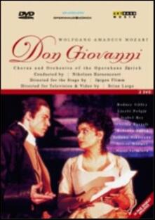 Wolfgang Amadeus Mozart. Don Giovanni (2 DVD) - DVD di Cecilia Bartoli,Laszlo Polgar,Rodney Gilfry,Wolfgang Amadeus Mozart