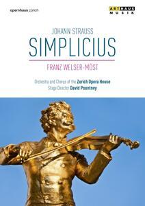 Johann Strauss. Simplicius di David Pourtney - DVD