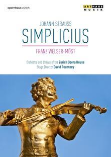 Johann Strauss. Simplicius (DVD) - DVD di Johann Strauss