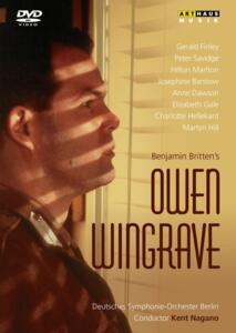 Benjamin Britten. Owen Wingrave di Margaret Williams - DVD