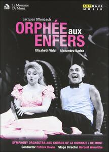 Jacques Offenbach. Orphée aux enfers di Herbert Wernicke - DVD