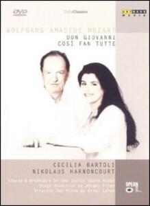 Wolfgang Amadeus Mozart. Così fan tutte - Don Giovanni (4 DVD) - DVD
