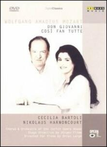 Wolfgang Amadeus Mozart. Così fan tutte - Don Giovanni (4 DVD) - DVD
