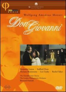 Wolfgang Amadeus Mozart. Don Giovanni di Peter Hall - DVD