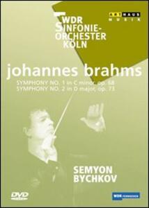 Johannes Brahms. Sinfonia n. 1 op. 68, sinfonia n. 2 op. 73 - DVD