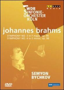 Johannes Brahms. Sinfonia n. 3 op. 90, sinfonia n. 4 op. 98 - DVD