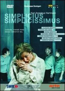 Karl Amadeus Hartmann. Simplicius Simplicissimus - DVD