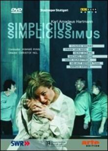 Karl Amadeus Hartmann. Simplicius Simplicissimus (DVD) - DVD di Karl Amadeus Hartmann