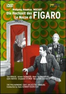 Wolfgang Amadeus Mozart. Le nozze di Figaro (DVD) - DVD di Wolfgang Amadeus Mozart,Tom Krause,Hans Schmidt-Isserstedt