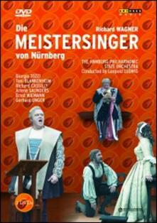 Richard Wagner. I Maestri Cantori di Norimberga (2 DVD) - DVD di Richard Wagner,Leopold Ludwig,Giorgio Tozzi