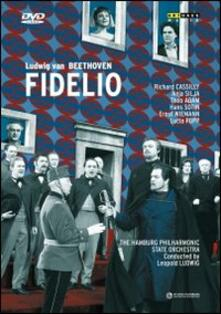 Ludwig van Beethoven. Fidelio (DVD) - DVD di Ludwig van Beethoven,Adamo,Theo Adam,Anja Silja,Richard Cassilly,Leopold Ludwig