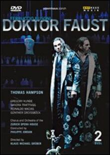 Ferruccio Busoni. Doktor Faust (2 DVD) di Felix Breisach - DVD
