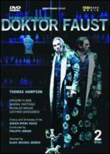 Ferruccio Busoni. Doktor Faust di Felix Breisach - Blu-ray