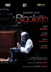Giuseppe Verdi. Rigoletto di Gilbert Deflo,Felix Breisach - DVD