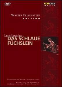 Leos Janácek. La piccola volpe astuta. Das Schlaue Fuchslein di Walter Felsenstein - DVD