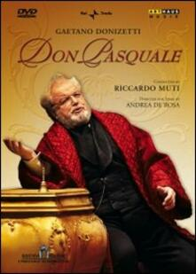 Gaetano Donizetti. Don Pasquale di Andrea Di Rosa - DVD