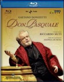 Gaetano Donizetti. Don Pasquale di Andrea Di Rosa - Blu-ray