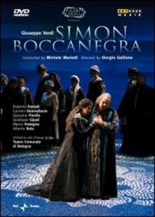 Giuseppe Verdi. Simon Boccanegra di Giorgio Gallione - DVD