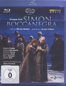 Giuseppe Verdi. Simon Boccanegra (Blu-ray) - Blu-ray di Giuseppe Verdi,Roberto Frontali