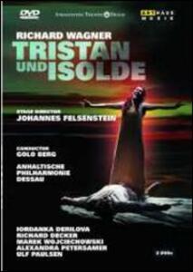 Richard Wagner. Tristano e Isotta. Tristan und Isolde (2 DVD) di Johannes Felsenstein - DVD