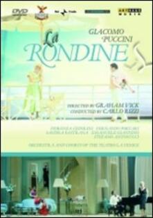 Giacomo Puccini. La rondine (DVD) - DVD di Giacomo Puccini,Carlo Rizzi,Fiorenza Cedolins