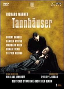 Richard Wagner. Tannhäuser (2 DVD) di Nikolaus Lehnhoff - DVD