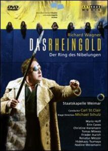 Richard Wagner. Das Rheingold. L'oro del Reno di Michael Schulz - DVD
