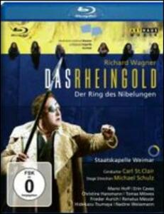 Richard Wagner. Das Rheingold. L'oro del Reno di Michael Schulz - Blu-ray
