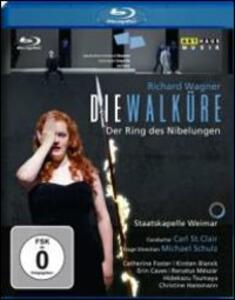 Richard Wagner. Die Walkure. La valchiria di Michael Schulz - Blu-ray