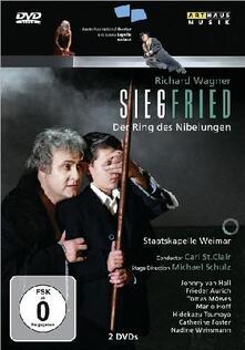 Richard Wagner. Siegfried. Sigfrido (2 DVD) di Michael Schulz - DVD