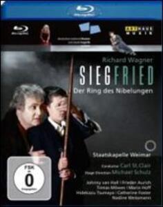 Richard Wagner. Siegfried. Sigfrido di Michael Schulz - Blu-ray