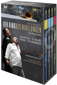 Richard Wagner. Der Ring des Nibelungen (7 DVD) di Michael Schulz