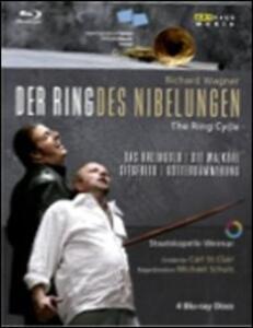 Richard Wagner. Ring Cycle (4 Blu-ray) di Michael Schulz
