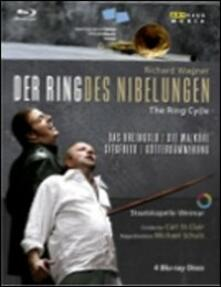 Richard Wagner. Ring Cycle (4 Blu-ray) di Michael Schulz