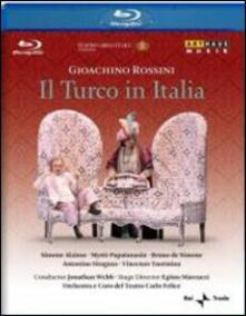 Gioacchino Rossini. Il turco in Italia (Blu-ray) - Blu-ray di Gioachino Rossini