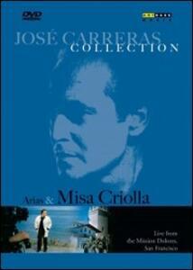 José Carreras. Arias & Misa Criolla - DVD
