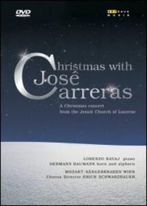 José Carreras. Christmas with José Carreras - DVD